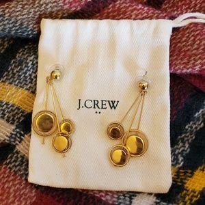 J. Crew Goldtone Orb Earrings